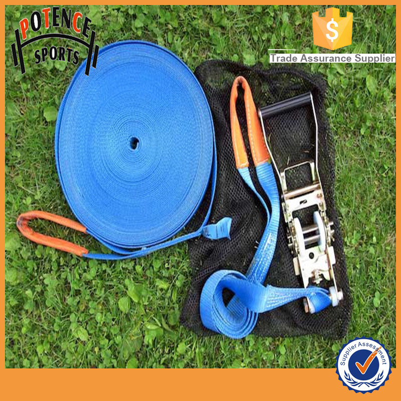 high quality 15m slackline oem for sports