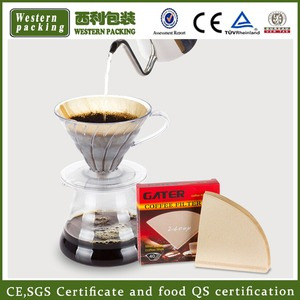 High quality coffee filter paper/paper coffee filter