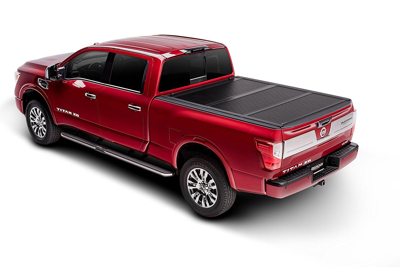 AX12003 fits UnderCover Armor Flex 2015-2019 Chevrolet Colorado//GMC Canyon 6ft Short Bed Std//Ext Undercover ArmorFlex Hard Folding Truck Bed Tonneau Cover