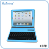 hot sale wireless ABS color bluetooth keyboard azerty 400mah leather bluetooth keyboard case for ipad pro