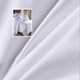 300tc percale weave high quality plain white 100% cotton fabric
