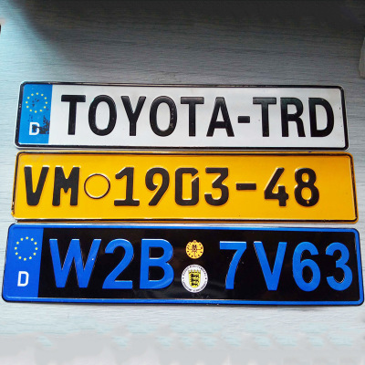 Manufacture Japanese Car License Number Plate,Motorcycle ...
