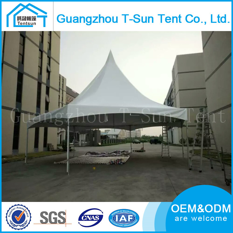 Guangzhou Low price all weather hexagonal tension tent for banquet