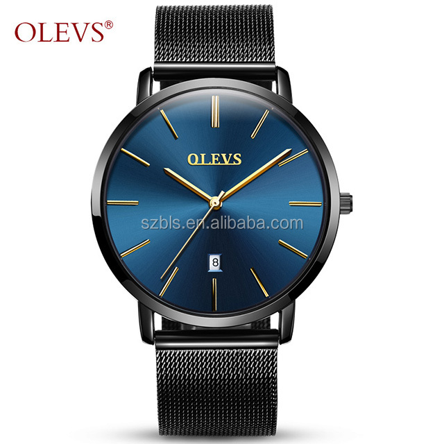 3eac9529303f34 Ultra thin Watches for men Waterproof Quartz watch Leather Stainless steel  wristwatch with date Calendar clock Relogio Masculino