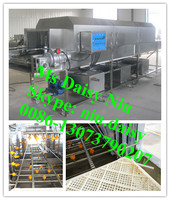 commercial plastic crate washing machine/plastic box cleaning machine/plastic basket washer