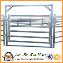 durable galvanized steel farm fence panel/cattle livestock panels and gates for sale
