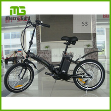 foldable electric bike bicycle e-bike24v 250w powerful engine S3
