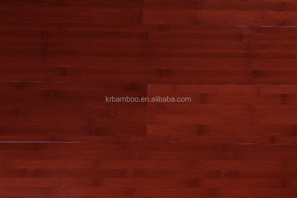 High Quality Bamboo Flooring with Easy Lock T & G Groove and CE & ISO Certificate Red Cabreuva Color-KE-H07016