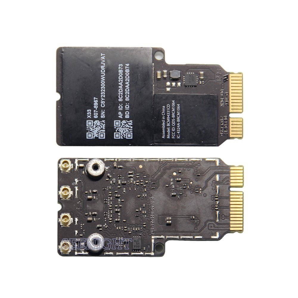 Buy SEENIGHT WIRELESS CARD For iMac A1418 A1419 607-8967 BCM94331CD