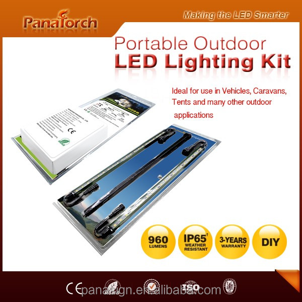 PanaTorch OEM Rigid LED Camping Strip PS-C5521A-2 outdoor emergency RV Camper Cabinet Strip Light
