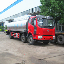 Wholesale price FAW 6x2 18600 liters milk truck for sale