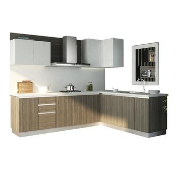 Commercial Price Kitchen Furniture Set Kitchen Cupboard Melamine Finish  Door Kitchen Cabinet - Buy Melamine Faced Chipboard Kitchen  Cabinets,Melamine ...