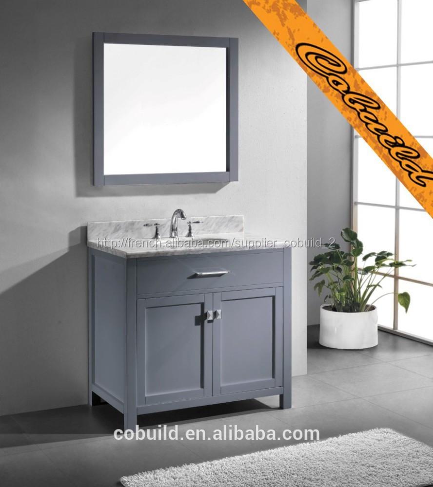 Salle De Bain Vanite ~ 36 moderne gris vier salle de bain vanit bel014a meuble