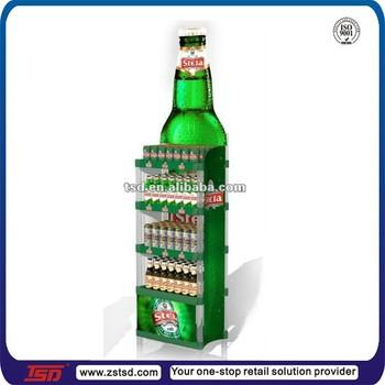 Tsdc40 Custom In Store Floor Cardboard Beer Display Stands Enchanting Product Display Stands Canada