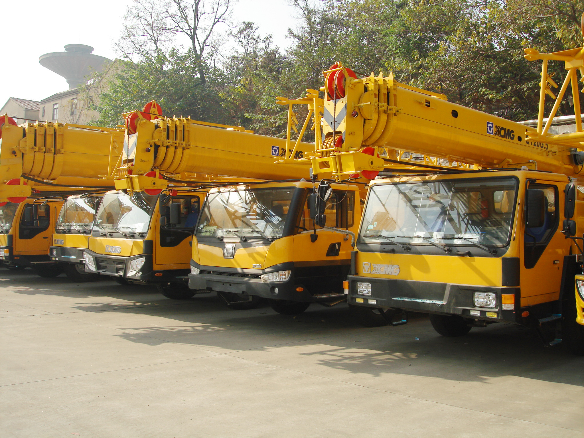 20ton China factory QY20G.5 widely new diesel mini truck mounted crane