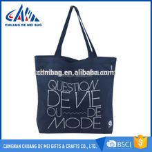 New Design Wholesale Recyclable Canvas Tote Bag