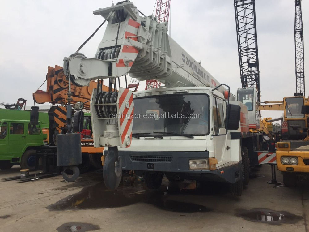 Used zoomlion crane 50ton, QY50H, chinese cheap crane