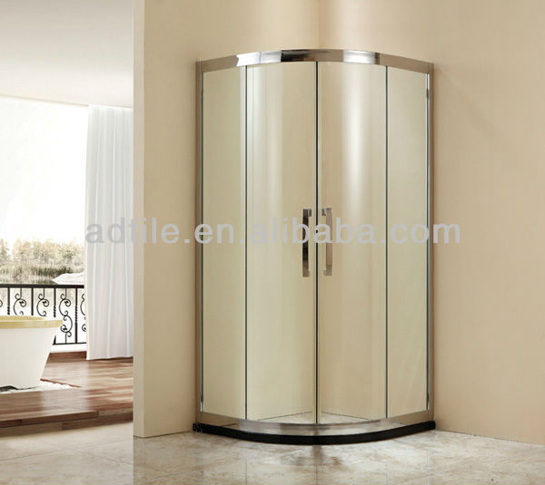 stainless steel shower enclosure 8mm 6mm