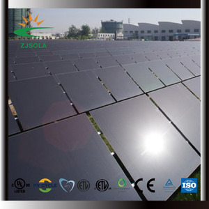 ZJSOLA 20kW on-grid solar power system, new technology all black solar panel for solar systems