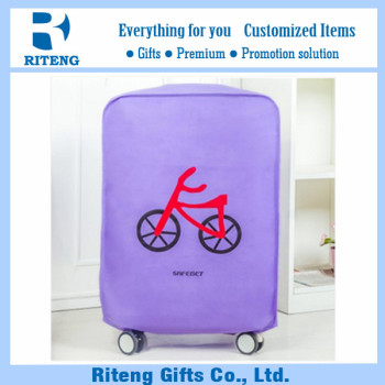 Cartoon Design Logo Imprint Luggage Cover