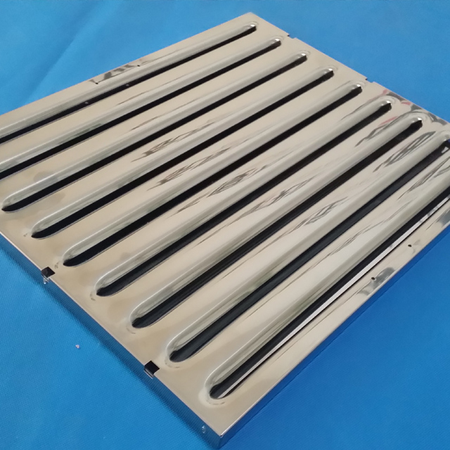 Commercia Rvs Afzuigkap Baffle Grease Filter voor thuis