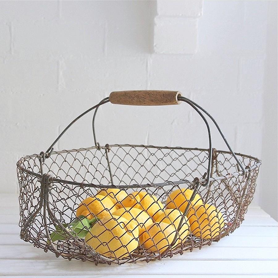 Handmade Chicken Wire Basket, Handmade Chicken Wire Basket ...