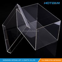 Large Transparent Plexiglass Acrylic Rectangle Box