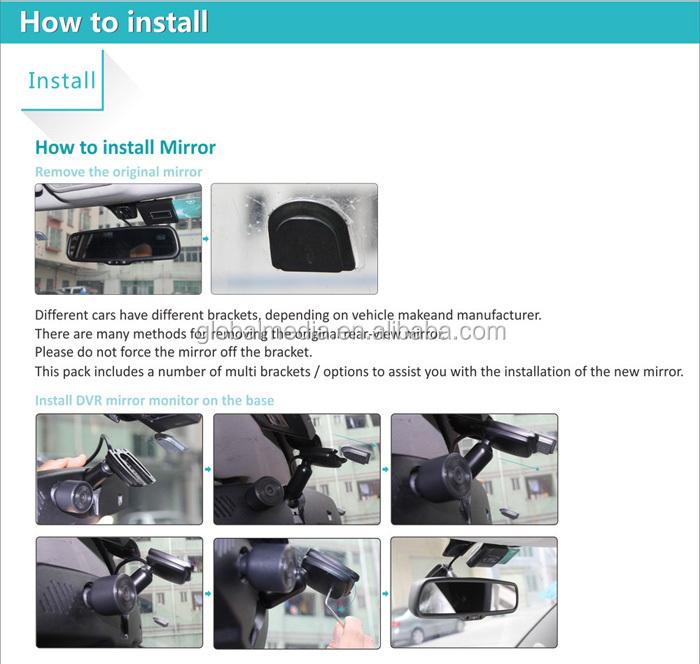 monitor mirror мануал dvr