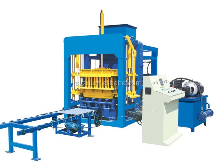 QT4-15 paving block making machine/hydraulic concrete block machine/hollow block making machine