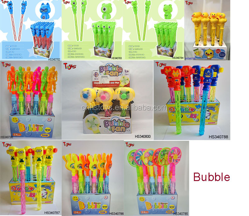 2017 New toys racket bubble for kids outdoor toys