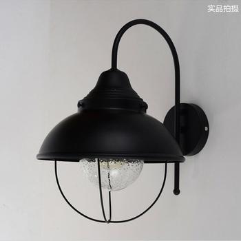 rurale am ricaine r tro bulle de fer lampe murale ikea classique nordic industrielle bar. Black Bedroom Furniture Sets. Home Design Ideas