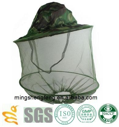 Camo Beekeeping Hat Head Face Protection Veil Mask Hat Bee Insect Prevention