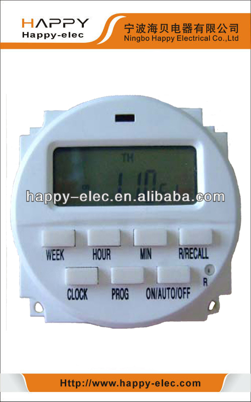 Digitale timer switches met lcd-display met behulp van in billboard lamp licht timer schakelaar
