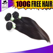 Unprocessed cheap indiana remy human hair