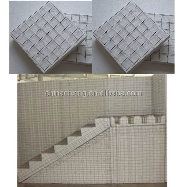 3d eps steel mesh wall panel building materials for prefabricated housing for United States