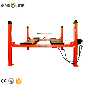 car lift hydraulic piston Durable Auto Repair Shop fixed 4 post car lift CE approved