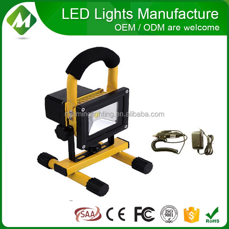 Rechargeable LED Flood Lights 10w 20w 30w 50w/rechargeable led flood light