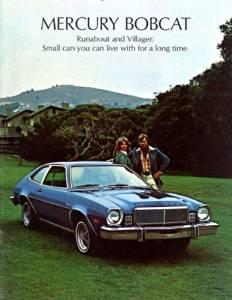 1975 MERCURY BOBCAT COLOR SALES BROCHURE - Form 75-201 - EXCELLENT - USA !!