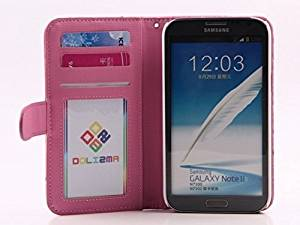 iPhone 6S (4.7), iPhone 6 (4.7) Case Wallet [Ostrich] Credit Card Slots- Verizon, ATT, Sprint, T-Mobile - Hot Pink
