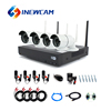 1080P 4CH CCTV Camera NVR Kit Outdoor Home Security Wireless Alarm System