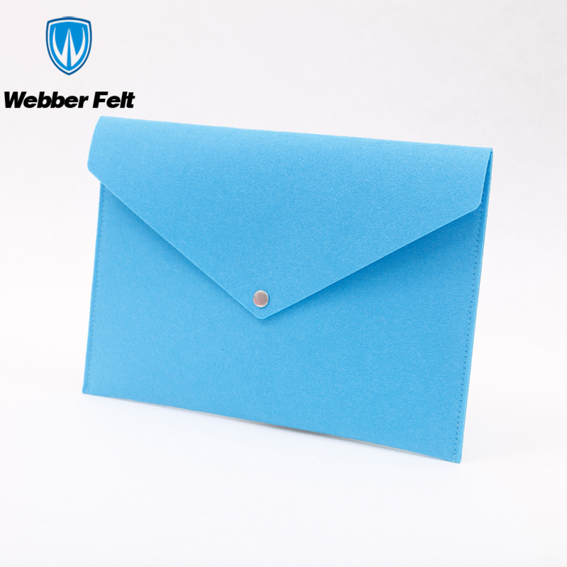 Aangepaste Vilt A4 Bestandsmap/Office Supply Vilt Document Zak Voor A4 Papier Of Laptop Sleeve