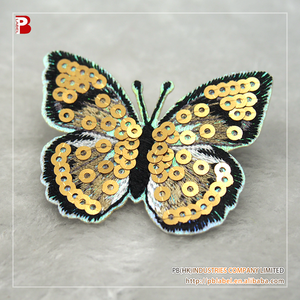 5a2af1804 Butterfly Embroidered Sequin Patches, Butterfly Embroidered Sequin Patches  Suppliers and Manufacturers at Alibaba.com