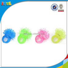 plastic toy diamond rings small plastic toys led light toy