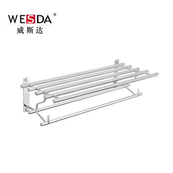 Wesda Bathroom Accessories Design Steel Hotel Towel Rack U0026 Shelf.