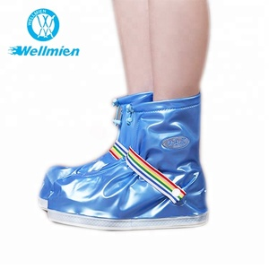 Colorful Disposable Plastic PVC Waterproof Rain Boots Covers for Walking