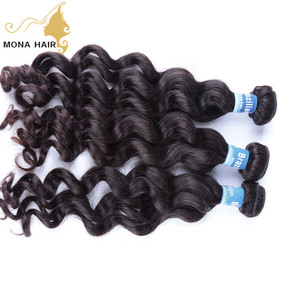 100% virgin hair dye-able and bleach-able 10 to 32 inch loose wave Brazilian hair