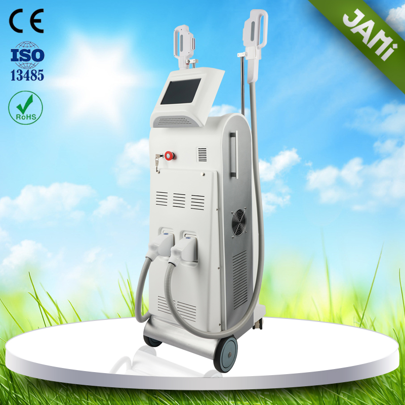 Best quality OPT ipl rf elight shr hair reoval beauty machine