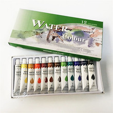 Colorful Kids drawing painting non-toxic water color paint set