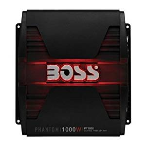 Boss Audio PT1000 Boss PHANTOM 1000 Watts, 2Channel Power Amplifier, Remote Subwoofer Level Control