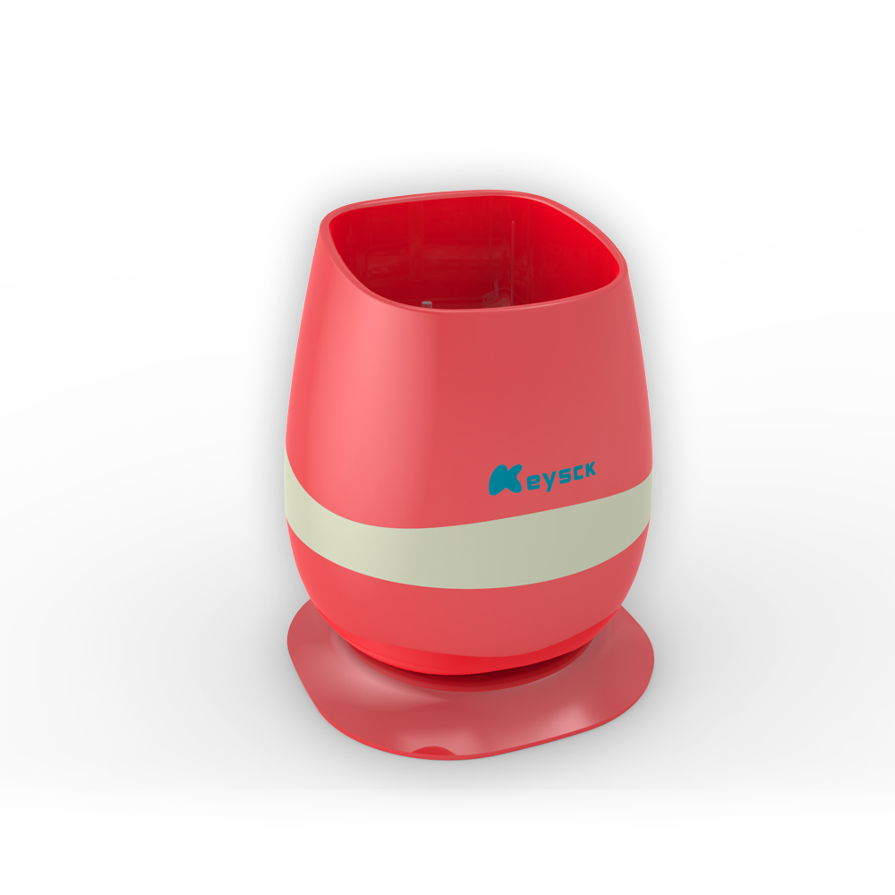 Mini Led Music Smart Flowerpot Playing Music bluetooth Speaker Pot blue color